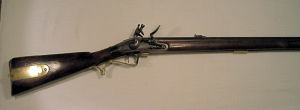 Click to enlarge a flintlock volunteer Baker rifle