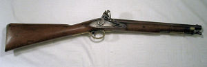 Click to enlarge a very good William IV flintlock Paget carbine