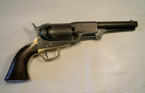 Click to enlarge a 3rd Model Colt Dragoon, Serial No. 18072 (all matching) for 1859