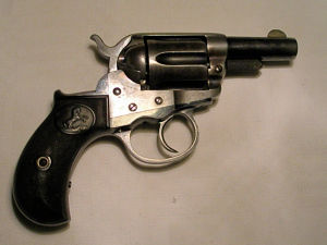 Click to enlarge a good .41 centrefire Storekeeper's model Colt Thunderer