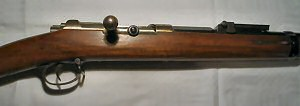 Click to enlarge image of A very fine 71/84 11.15mm Mauser battlefield rifle